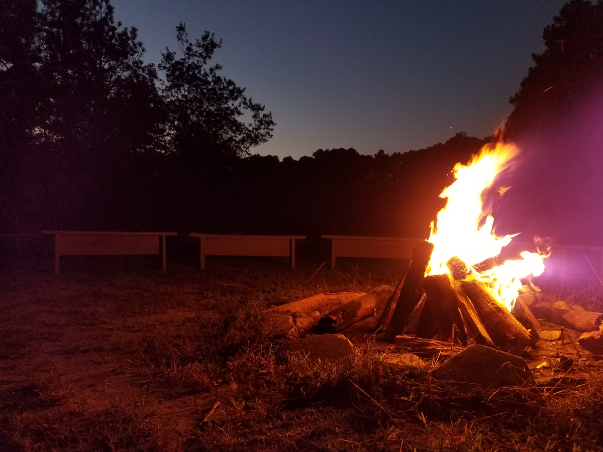 Tall Timbers campfire