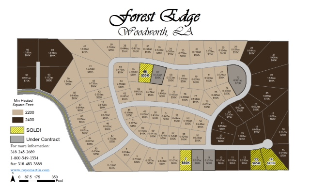 Forest Edge Subdivision