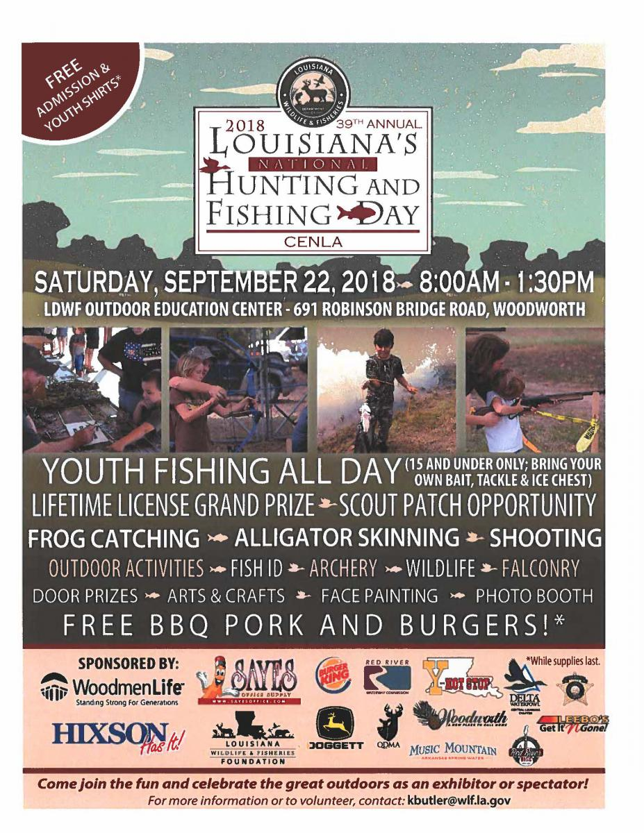Cenla National Hunting and Fishing Day