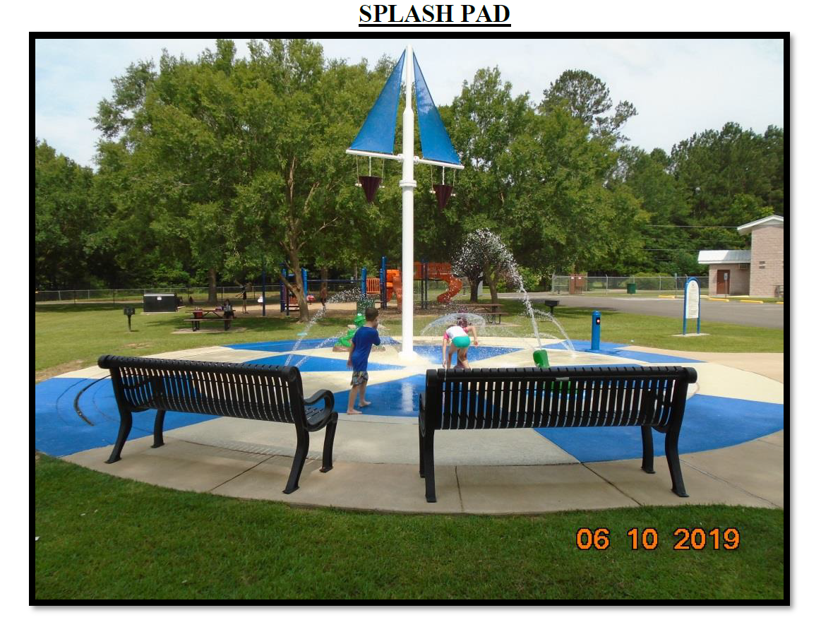 Woodworth Splash Pad is Officially Open
