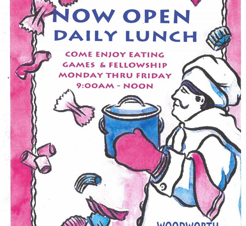 Daily Senior Lunch - Town of Woodworth, Louisiana